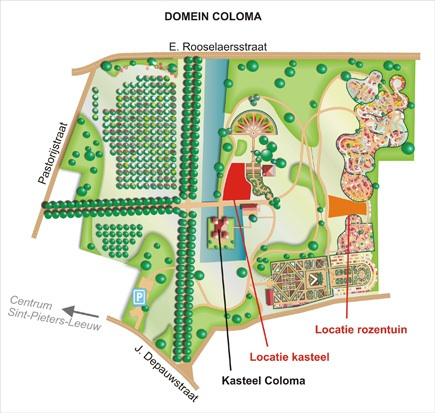 Plan domein Coloma