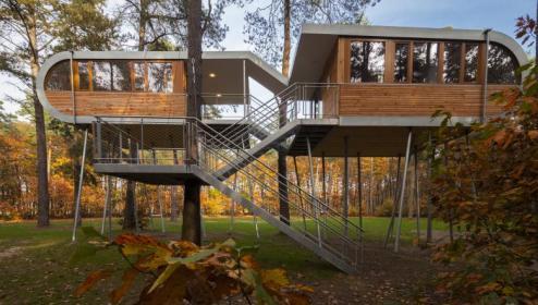 Foto van Treehouse Hechtel-Eksel