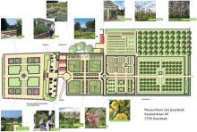 Plan Museumtuin Gaasbeek