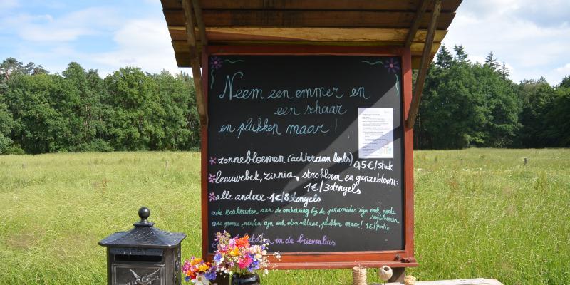 Talander opent plukweide in Arendonk